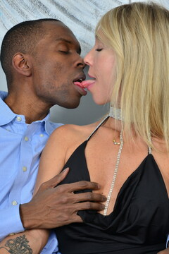 This MILF just wants a big hard black cock to fill her pussy
