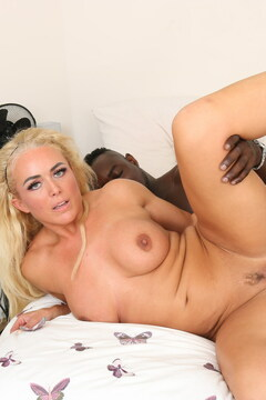 This naughty milf love a big black cock to please her